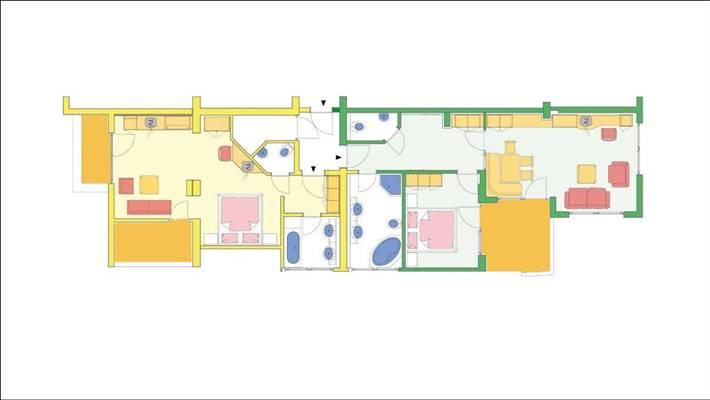Alpina Wohnsystem 4 Skizze